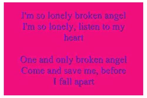 Download i'm so lonely english song :: tendmortlelitl