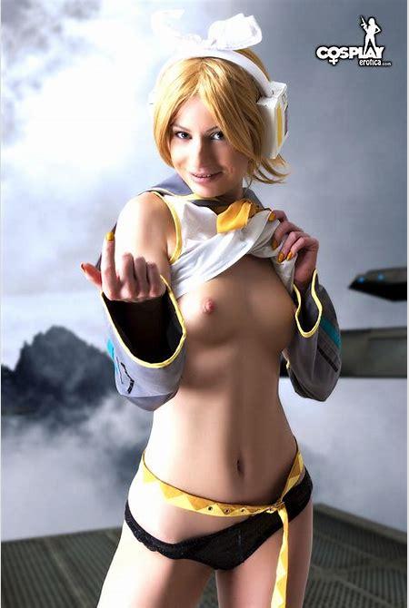 CosplayErotica - Rin Kagamine (Vocaloid) nude cosplay