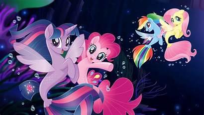 Pony Seaponies Mermaids Wallpapers Mermaid Mlp Ponies