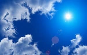 Sunshine blue sky wallpaper | 2560x1600 | #34686