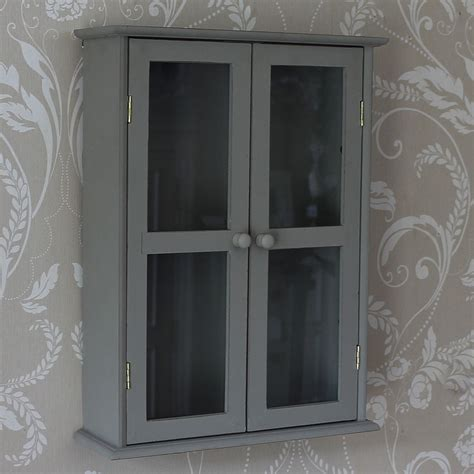 glass fronted wall cabinet shabby chic furniture french style home accessories
