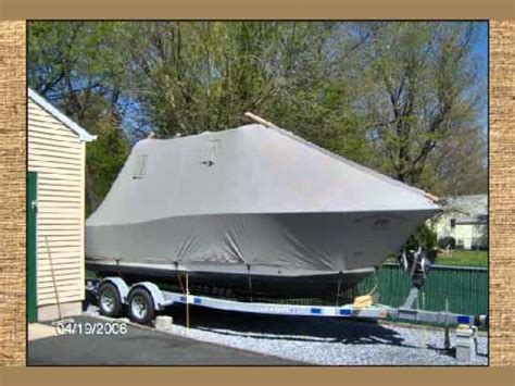 Custom Boat Winter Covers by Fisher Canvas Winter Boat Covers