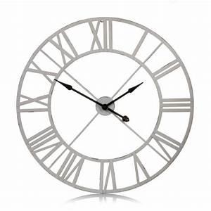 Wanduhr Römische Ziffern : wanduhr r mische ziffern metall wanduhren wanddekoration living ~ Watch28wear.com Haus und Dekorationen