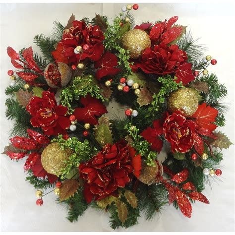 tina s door wreaths peony pine wreath