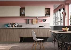 Deco Rose Pale : cuisine color e d couvrez toutes nos inspirations elle d coration ~ Teatrodelosmanantiales.com Idées de Décoration