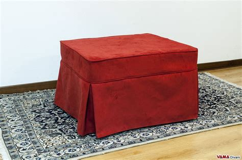 Chick Ottoman Bed With Folded Mattress