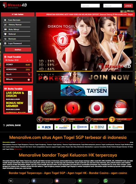 MENARALIVE Alternatif Link Terbaru 2018 - 2019 - Agen ...
