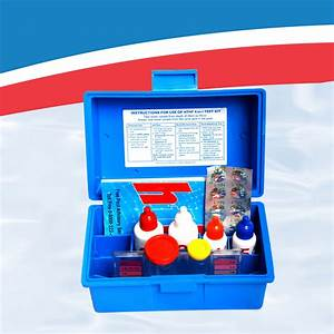 Pool Water Test Color Chart Manual Water Test Kit 4 In 1 Hyper Pool Group