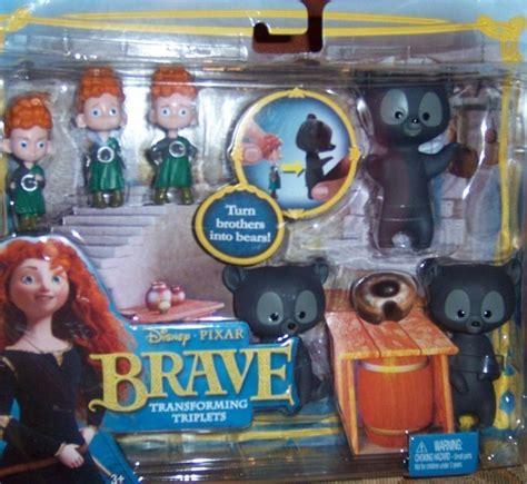 Disney Pixar Brave Transforming Triplets Bear Playset ...