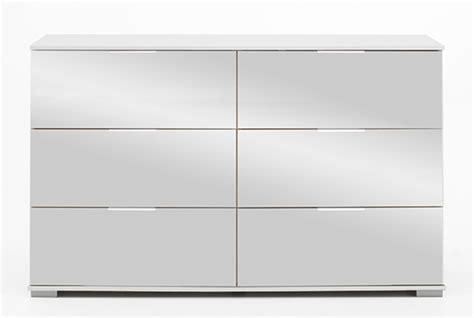 couleur de cuisine moderne commode 6 tiroirs easy plus c blanc miroir