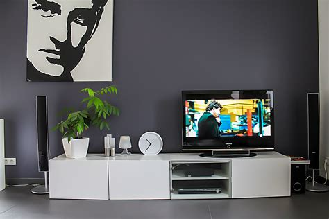adjustable computer stand besta ikea burs tv unit with drawer home theatre