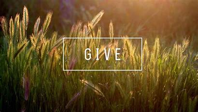 Giving Give Church Bible Thank Headers Choosing