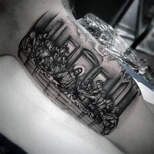 60 Catholic Tattoos For Men - Religious Design Ideas