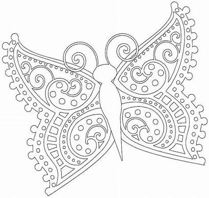 Coloring Elementary Pages Butterfly Printable Grade 5th