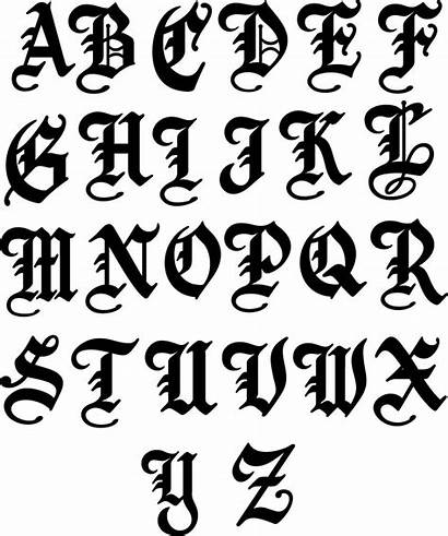 English Letter Metal Single