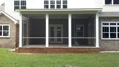 Screens For Porch Enclosure by Screen Rooms Tallahassee Southwood Screened Porch Project