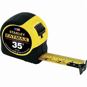 Stanley Fat Max Measuring Tape  U2014 35ft  Length