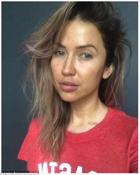 The Bachelorette's Kaitlyn Bristowe goes makeup free ...