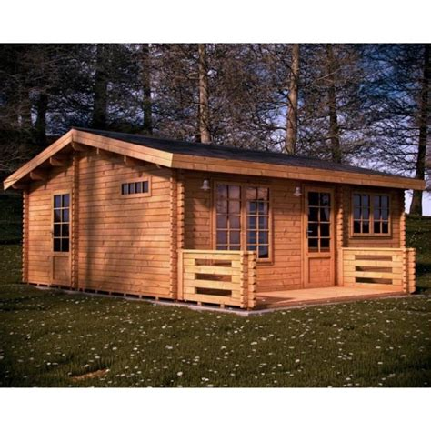 chalet en bois habitable 44 mm achat vente abri jardin chalet chalet en bois