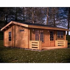 Chalet En Bois Habitable D Occasion : chalet en bois habitable nova 44 mm achat vente abri ~ Melissatoandfro.com Idées de Décoration