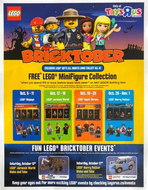 lego bricktober toys canada event schedule