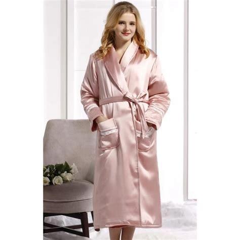 robe de chambre de luxe robe de chambre luxe femme soie matelassée achat vente