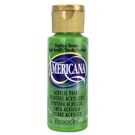 decoart americana 2 oz festive green acrylic paint da230