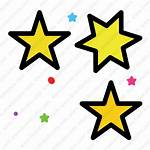 Stars Icon Star Space Transparent Inventicons Astronomy