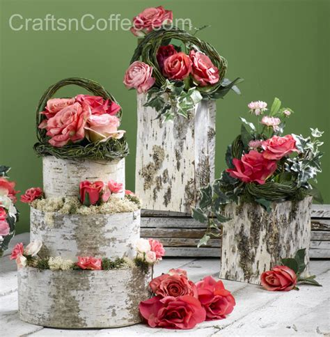 create beautiful diy wedding décor bake a birch bark