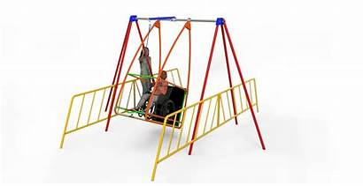 Swing Wheelchair Swings Playground Equipment Playgrounds Purposes