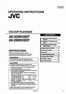 Jvc Av28  32wh3ep Mc
