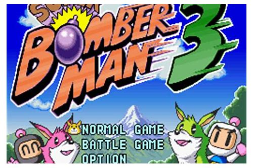download rom bomberman 3 super nintendo