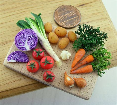 tiny vegetables 24 best images about polymer clay vegetables on pinterest miniature slow food and cabbages