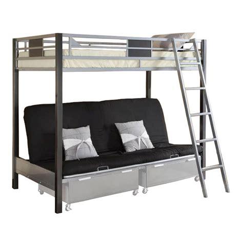 futon bunk bed venetian worldwide cletis iii futon bunk bed