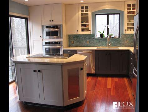 kitchen islands in small kitchens octagonal kitchen island fox woodworking