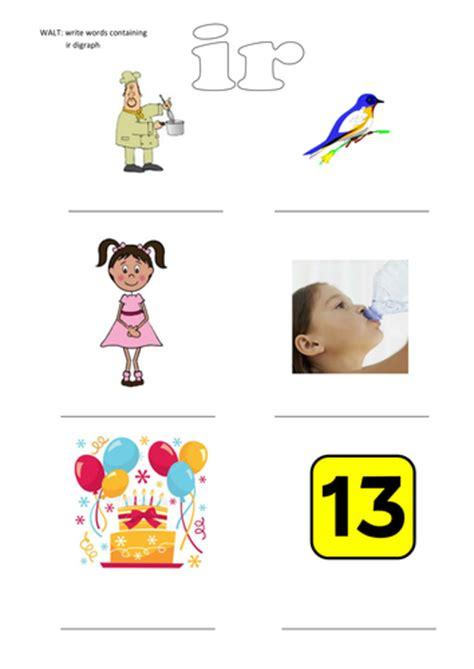 ir phonics worksheet by rodders33 teaching resources tes