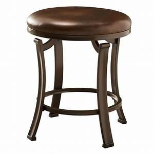Hillsdale, Furniture, Antique, Bronze, Round, Makeup, Vanity, Stool, In, The, Makeup, Vanity, Stools