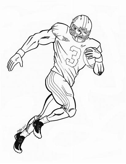 Coloring Pages Auburn Football Printable Cam Newton