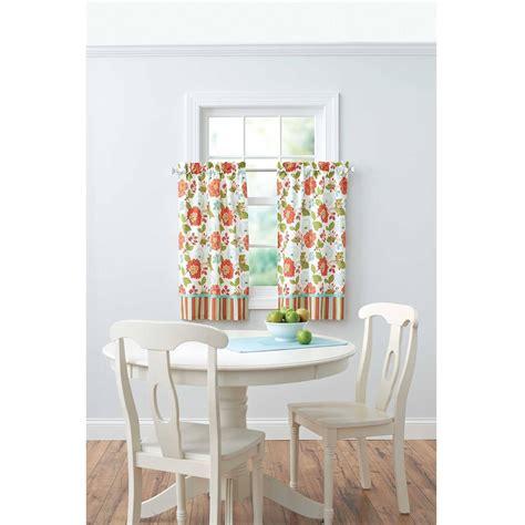 homes  gardens jacobean stripe kitchen curtains