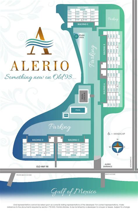 Alerio Site Map By Sre • Sandestin Real Estate Sales Issuu