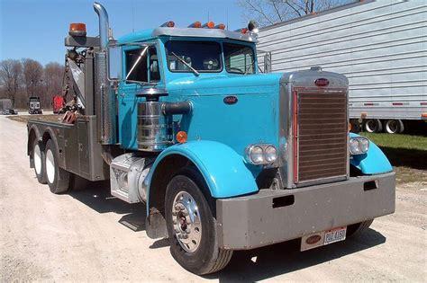1955 peterbilt 351 tow truck semi s peterbilt and tow truck