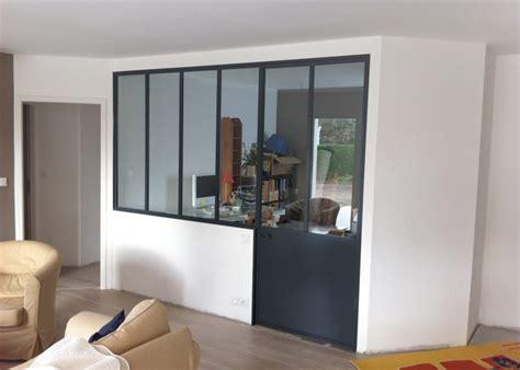 vitre pour cloison interieure bureau vitr 233 dans le salon bureau cloison vitre cloisons et nous avons fait