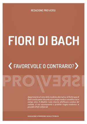 fiori di bach opinioni fiori di bach pro versi opinioni a confronto