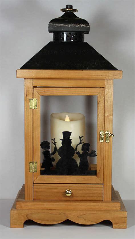 woodworking plan  building  wood lantern  flameless candles
