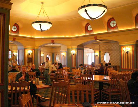 Guest Review Captain's Grille Breakfast Buffet At Disney