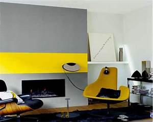 comment associer la couleur gris en decoration deco cool With piece peinture 2 couleurs 2 decoration dinterieur salon et cuisine maisons