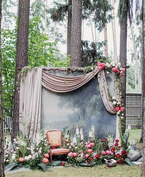 Backdrop Outdoor by Oh So Wedding Installation That Made Our Hearts