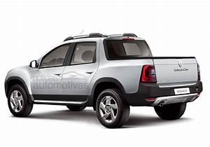Dacia Duster Oroch : renault duster oroch pickup production version rendered ~ Maxctalentgroup.com Avis de Voitures