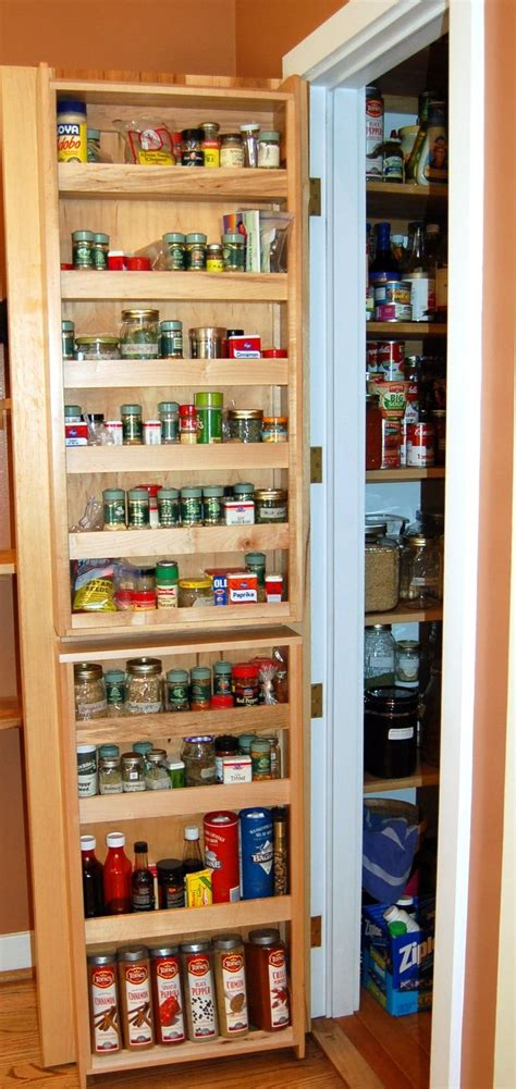 Door Spice Rack Organizer by 78 Best Ideas About Pantry Door Storage On