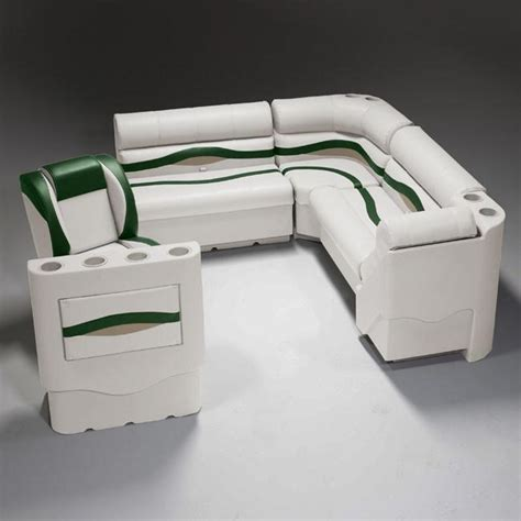 Green Pontoon Boat Seats by Pontoon Boat Seats Prg3754 Pontoonstuff
